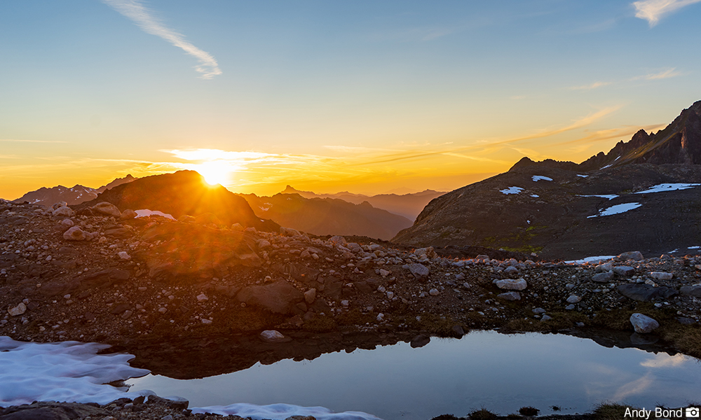 Sunrise on Glacier Peak